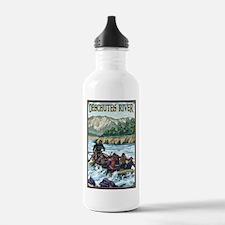 Bend, Oregon - Deschutes River Rafting Water Bottl