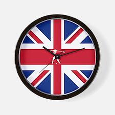 Team Golf Britain Wall Clock