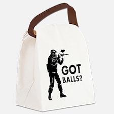 Unique Paintball Canvas Lunch Bag