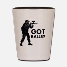 Cute Paintball Shot Glass