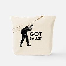 Unique Paintball Tote Bag