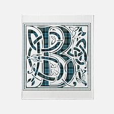 Monogram - Baird Throw Blanket