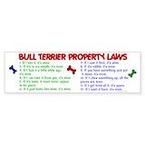 Bull terrier Stickers