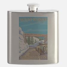 Rainier National Park, Washington - Entrance Flask