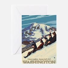 Mount Rainier, Washington - Nature Coasting Greeti