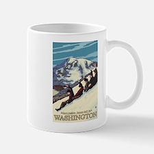 Mount Rainier, Washington - Nature Coasting Mugs