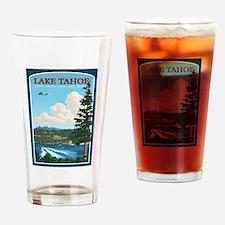 Lake Tahoe, California Drinking Glass