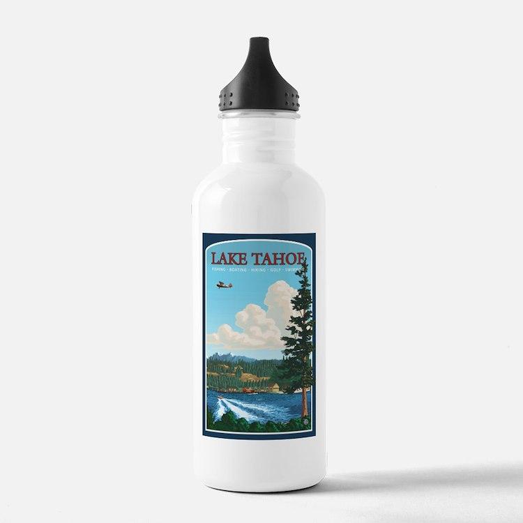 Lake Tahoe, California Water Bottle