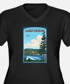 Lake Tahoe, California Plus Size T-Shirt