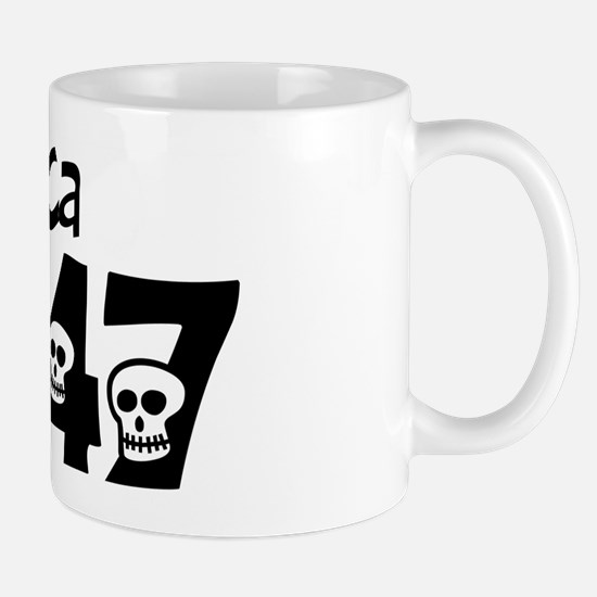 1947 60th birthday skulls Mug