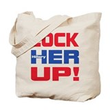 Lock her up Canvas Totes