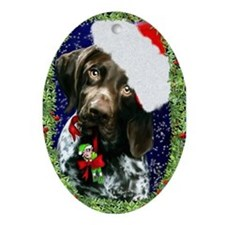 German Shorthaired Pointer Holiday Fun Ornament (O