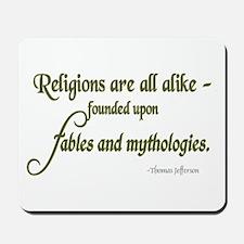 Fables and Mythologies Mousepad