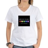 H8 Womens V-Neck T-shirts
