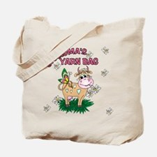 Grandma's Yarn Bag Tote Bag