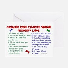 Cavalier King Charles Property Laws 2 Greeting Car