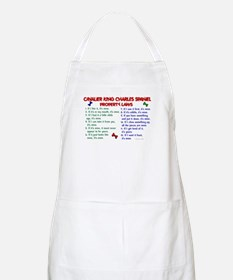 Cavalier King Charles Property Laws 2 BBQ Apron