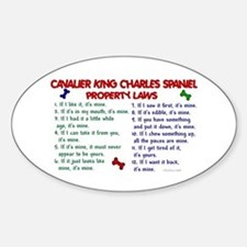 Cavalier King Charles Property Laws 2 Decal