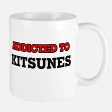Addicted to Kitsunes Mugs