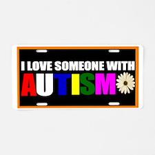 Cute Autism Aluminum License Plate