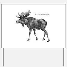 Yellowstone Yard Sign