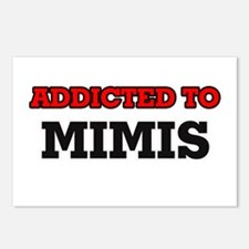 Addicted to Mimis Postcards (Package of 8)