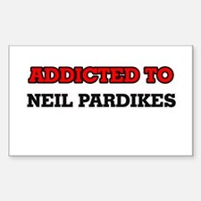 Addicted to Neil Pardikes Decal