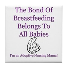 Adoptive Nursing Advocacy Tile Coaster