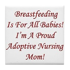 Adoptive Nursing Advocacy 3 Tile Coaster
