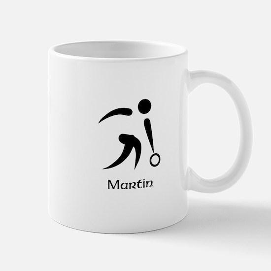 Team Bowling Monogram Mug