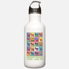 Cute Democratic donkey Water Bottle