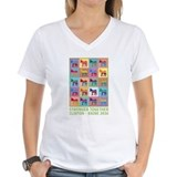 Clinton kaine Womens V-Neck T-shirts