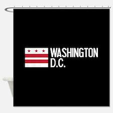 Washington D.C.: Washington D.C. Fl Shower Curtain