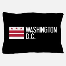 Washington D.C.: Washington D.C. Flag Pillow Case