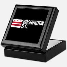 Washington D.C.: Washington D.C. Flag Keepsake Box
