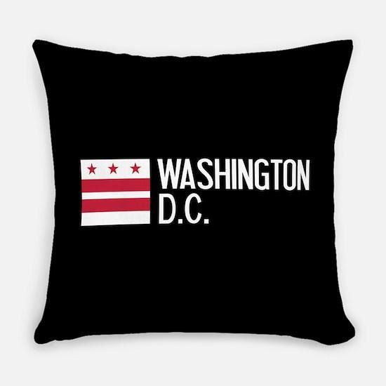 Washington D.C.: Washington D.C. F Everyday Pillow