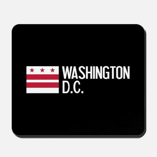 Washington D.C.: Washington D.C. Flag Mousepad