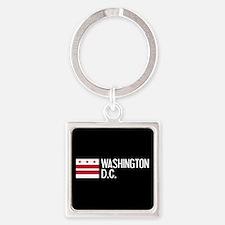 Washington D.C.: Washington D.C. F Square Keychain