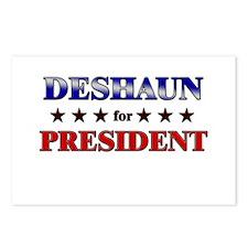 DESHAUN for president Postcards (Package of 8)