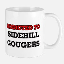 Addicted to Sidehill Gougers Mugs
