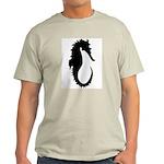 The Seahorse Ash Grey T-Shirt