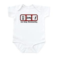 Eat, Sleep, Wakeboarding Infant Bodysuit