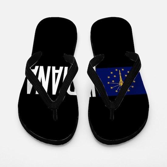Indiana: Hoosier Flag & Indiana Flip Flops