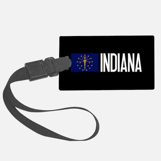 Indiana: Hoosier Flag & Indiana Luggage Tag