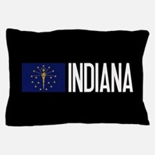Indiana: Hoosier Flag & Indiana Pillow Case