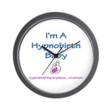 Hypnobirth Advocacy Wall Clock