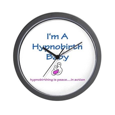 Hypnobirth Advocacy Wall Clock