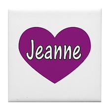 Jeanne Tile Coaster