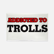 Addicted to Trolls Magnets