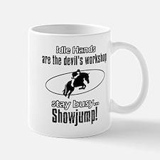 Stay Busy Showjump Mug